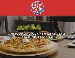 Restaurants deals in the Boston Pizza catalogue ( 8 days left)