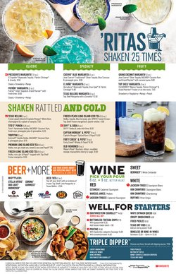 Restaurants deals in the Chili's catalogue ( 2 days left)