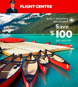 Travel offers in the Flight Centre catalogue in Winnipeg