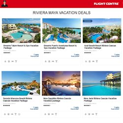 Travel offers in the Flight Centre catalogue in Toronto ( 8 days left )