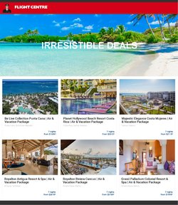 Travel deals in the Flight Centre catalogue ( 3 days left)
