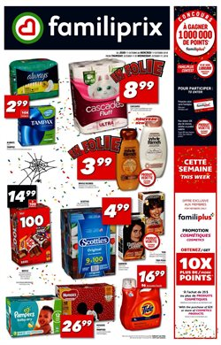 Pharmacy & Beauty offers in the Familiprix catalogue in Salaberry-de-Valleyfield