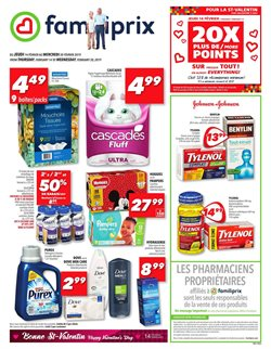 Pharmacy & Beauty offers in the Familiprix catalogue in Drummondville