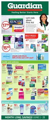 Pharmacy & Beauty offers in the Guardian Pharmacy catalogue in Vernon