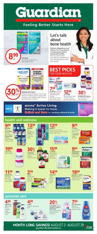 Guardian Pharmacy in Oshawa | Circulaires & Flyers