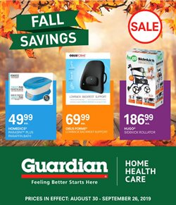 Guardian Pharmacy deals in the Toronto flyer