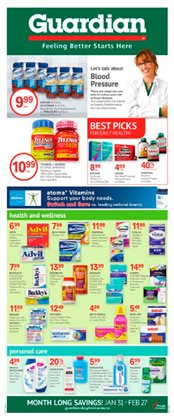 Guardian Pharmacy catalogue ( More than a month )