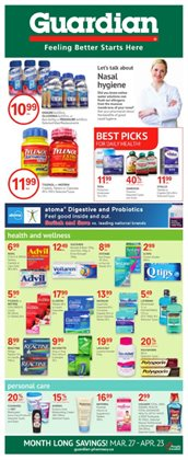 Guardian Pharmacy catalogue ( 17 days left )