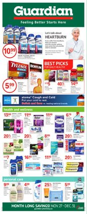 Pharmacy & Beauty offers in the Guardian Pharmacy catalogue in Victoria BC ( 26 days left )
