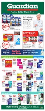 Guardian Pharmacy catalogue ( Expires today )