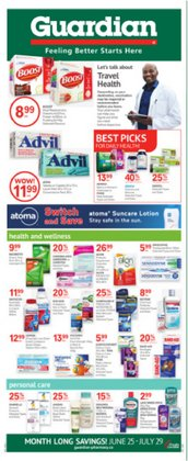 Guardian Pharmacy deals in the Guardian Pharmacy catalogue ( 4 days left)