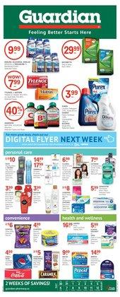 Pharmacy & Beauty deals in the Guardian Pharmacy catalogue ( 7 days left)