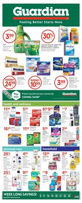 Pharmacy & Beauty deals in the Guardian Pharmacy catalogue ( Published today)