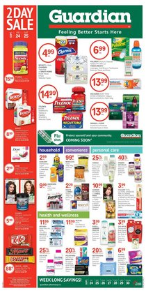 Pharmacy & Beauty deals in the Guardian Pharmacy catalogue ( 2 days left)