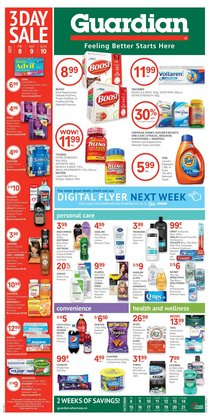 Pharmacy & Beauty deals in the Guardian Pharmacy catalogue ( 3 days left)