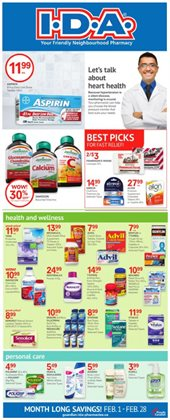 Pharmacy & Beauty offers in the IDA Pharmacy catalogue in Prince George