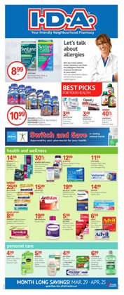 IDA Pharmacy deals in the Toronto flyer