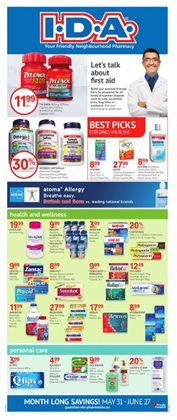 Pharmacy & Beauty offers in the IDA Pharmacy catalogue in Regina