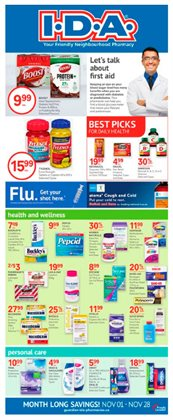 Pharmacy & Beauty offers in the IDA Pharmacy catalogue in Chilliwack