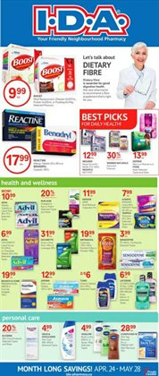 IDA Pharmacy catalogue ( Expires today )