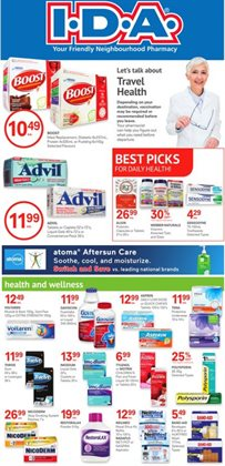Pharmacy & Beauty offers in the IDA Pharmacy catalogue in Chilliwack ( 19 days left )