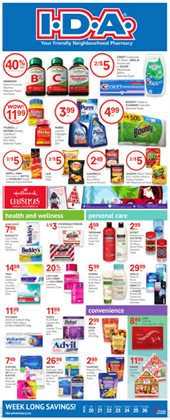 Pharmacy & Beauty offers in the IDA Pharmacy catalogue in Toronto ( Expires today )