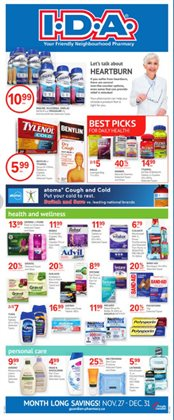 Pharmacy & Beauty offers in the IDA Pharmacy catalogue in Victoria BC ( 1 day ago )