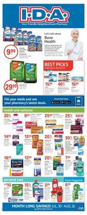 Pharmacy & Beauty deals in the IDA Pharmacy catalogue ( 23 days left)