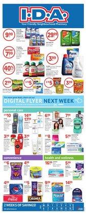 Pharmacy & Beauty deals in the IDA Pharmacy catalogue ( 7 days left)