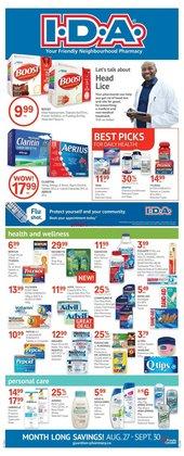 Pharmacy & Beauty deals in the IDA Pharmacy catalogue ( 13 days left)