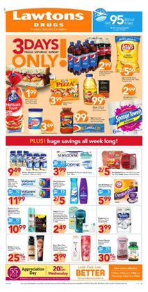 Lawtons Drugs deals in the Halifax flyer