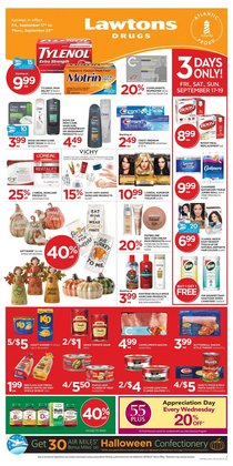 Lawtons Drugs deals in the Lawtons Drugs catalogue ( 4 days left)