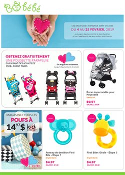 Kids, Toys & Babies offers in the Bô Bébé catalogue in Montreal