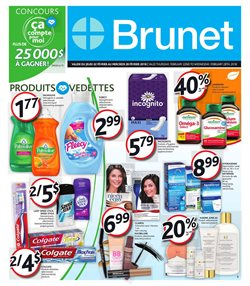 Brunet deals in the Quebec flyer