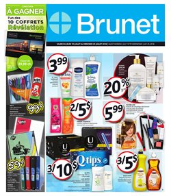 Pharmacy & Beauty offers in the Brunet catalogue in Granby