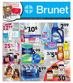 Brunet deals in the Montreal flyer