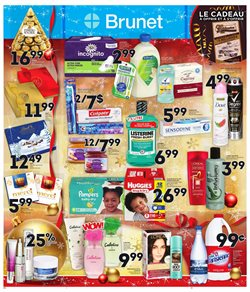 Pharmacy & Beauty offers in the Brunet catalogue in Montreal