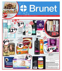 Pharmacy & Beauty offers in the Brunet catalogue in Saint-Hyacinthe