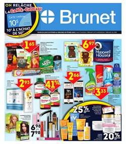 Pharmacy & Beauty offers in the Brunet catalogue in Granby ( 3 days left )