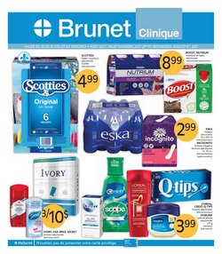 Pharmacy & Beauty deals in the Brunet catalogue ( 3 days left)