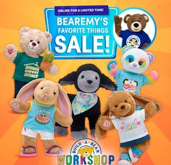 Kids, Toys & Babies deals in the Build a Bear catalogue ( 3 days left)