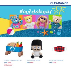 Kids, Toys & Babies deals in the Build a Bear catalogue ( Expires tomorrow)