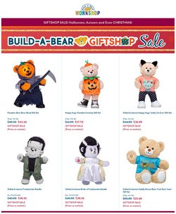 Kids, Toys & Babies deals in the Build a Bear catalogue ( 6 days left)