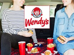 Wendy's deals in the Moncton flyer