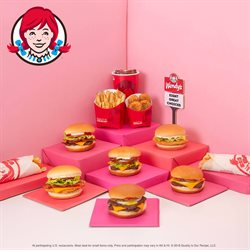 Restaurants offers in the Wendy's catalogue in Ottawa
