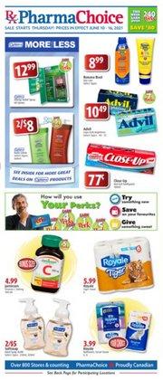 Pharmacy & Beauty deals in the PharmaChoice catalogue ( Expires tomorrow)