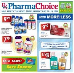 Pharmacy & Beauty deals in the PharmaChoice catalogue ( 3 days left)