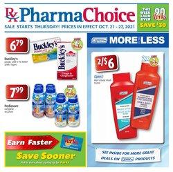Pharmacy & Beauty deals in the PharmaChoice catalogue ( 2 days left)
