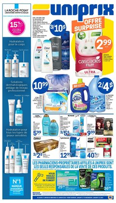 Grocery offers in the Uniprix catalogue in Victoriaville