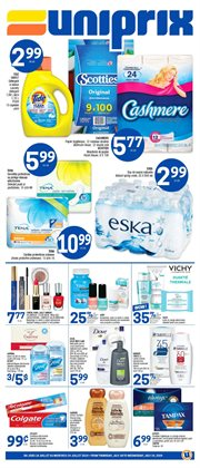 Grocery offers in the Uniprix catalogue in Saint-Hyacinthe